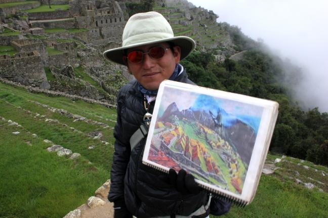 Machu Picchu - The Tour Guide.JPG